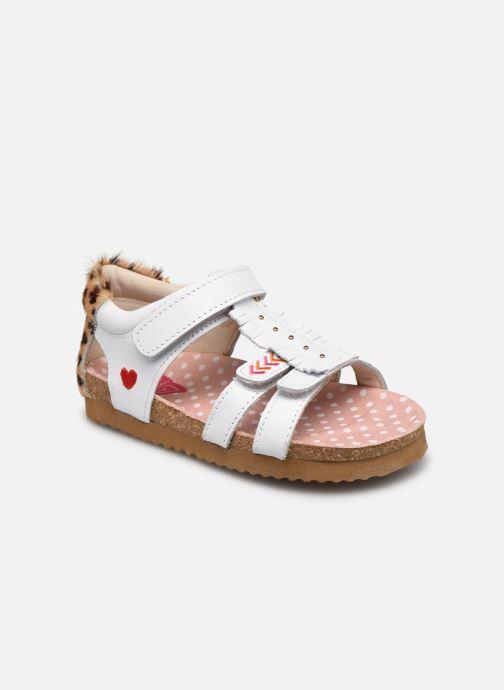 Sandales et nu-pieds Shoesme Bio Sandal BI21S092 Blanc vue détail/paire
