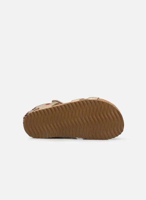 Sandalias Shoesme Bio Sandal BI21S092 Oro y bronce vista de arriba