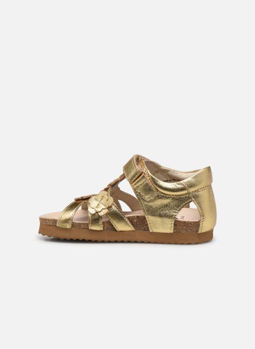 Sandales et nu-pieds Shoesme Bio Sandal BI21S095 Or et bronze vue face