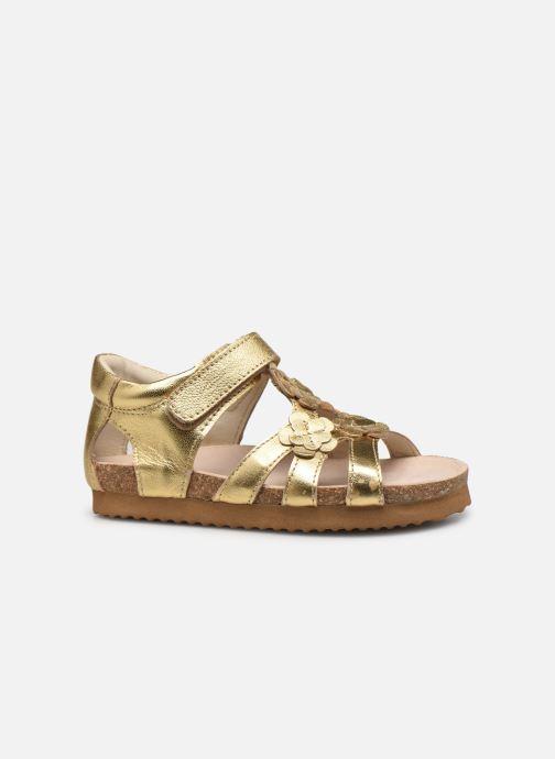 Sandales et nu-pieds Shoesme Bio Sandal BI21S095 Or et bronze vue derrière