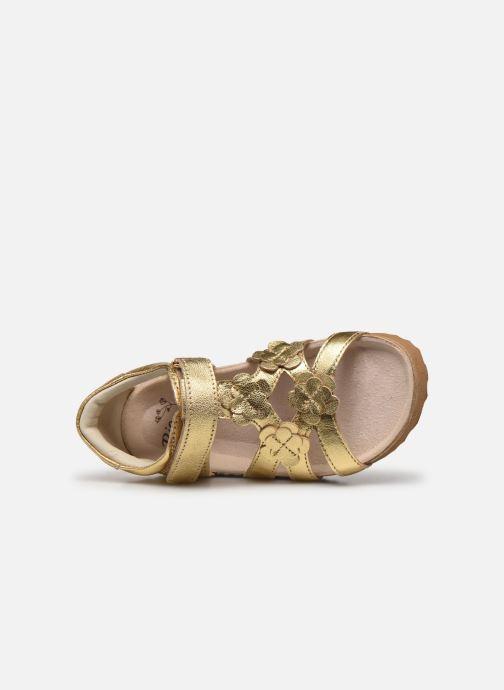 Sandales et nu-pieds Shoesme Bio Sandal BI21S095 Or et bronze vue gauche