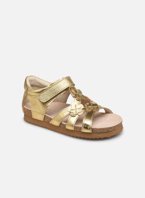 Sandales et nu-pieds Shoesme Bio Sandal BI21S095 Or et bronze vue détail/paire