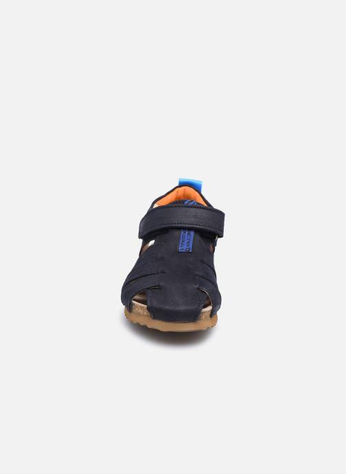 Sandali e scarpe aperte Shoesme Bio Sandal BI21S091 Azzurro modello indossato