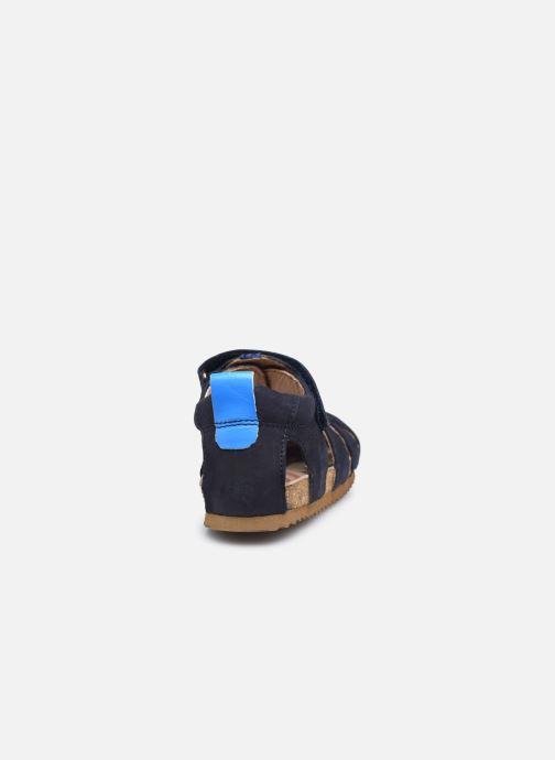 Sandalen Shoesme Bio Sandal BI21S091 blau ansicht von rechts