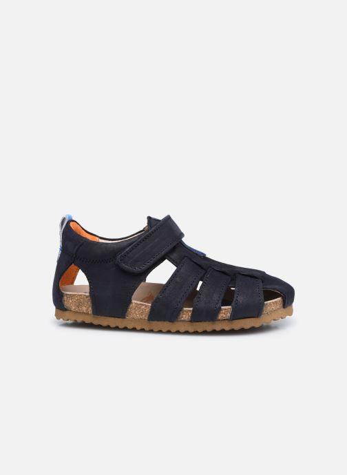 Sandalen Shoesme Bio Sandal BI21S091 blau ansicht von hinten