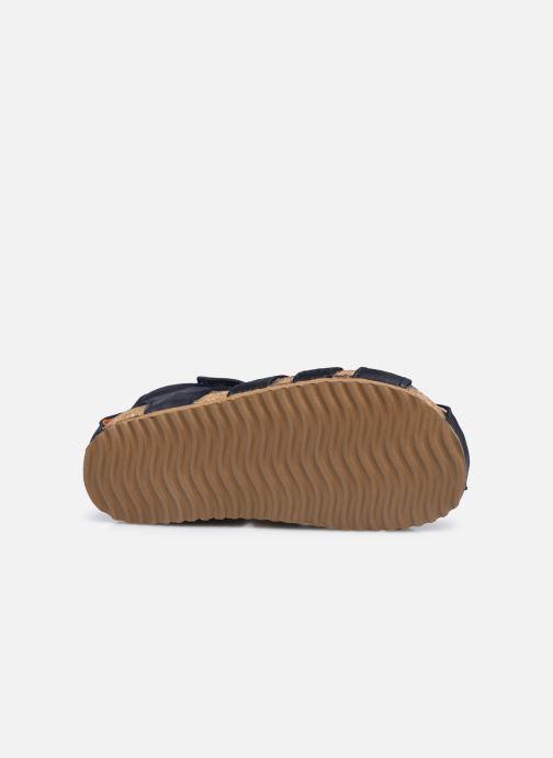 Sandalen Shoesme Bio Sandal BI21S091 blau ansicht von oben