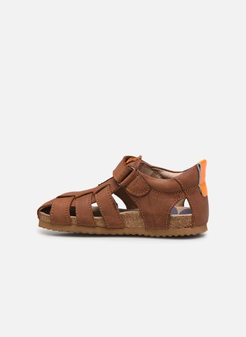 Sandali e scarpe aperte Shoesme Bio Sandal BI21S091 Marrone immagine frontale