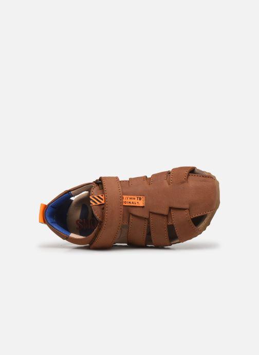 Sandali e scarpe aperte Shoesme Bio Sandal BI21S091 Marrone immagine sinistra