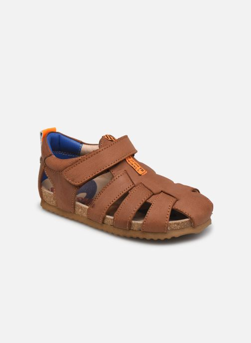 Sandales et nu-pieds Shoesme Bio Sandal BI21S091 Marron vue détail/paire