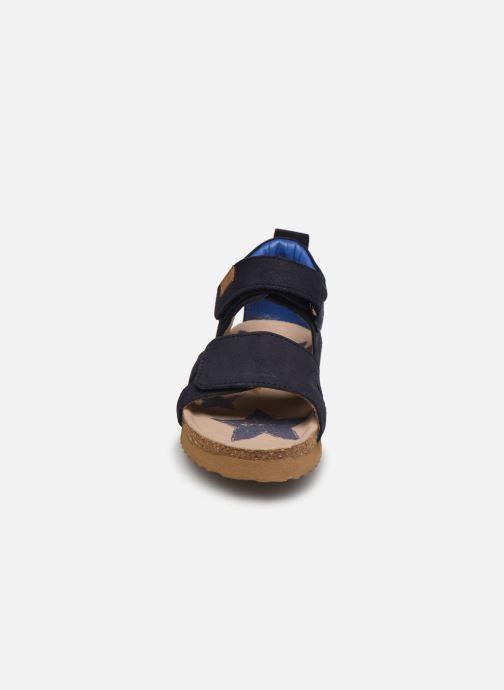 Sandali e scarpe aperte Shoesme Bio Sandal BI21S096 Azzurro modello indossato