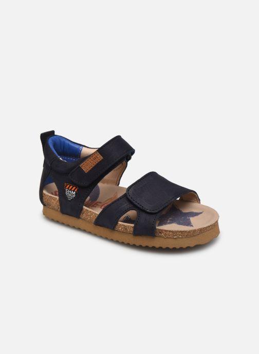Sandales et nu-pieds Shoesme Bio Sandal BI21S096 Bleu vue détail/paire