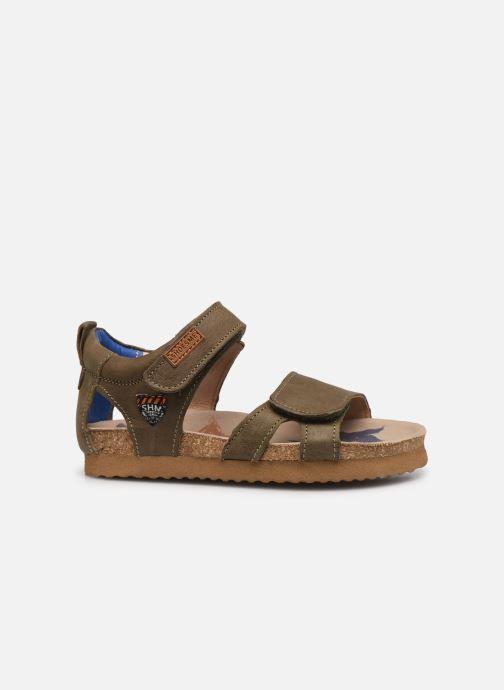 Sandalen Shoesme Bio Sandal BI21S096 grün ansicht von hinten