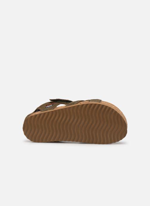 Sandalen Shoesme Bio Sandal BI21S096 grün ansicht von oben