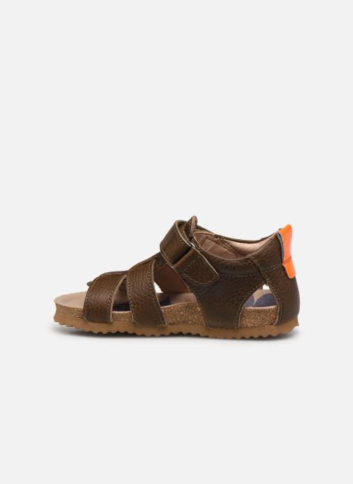 Sandales et nu-pieds Shoesme Bio Sandal BI21S098 Vert vue face