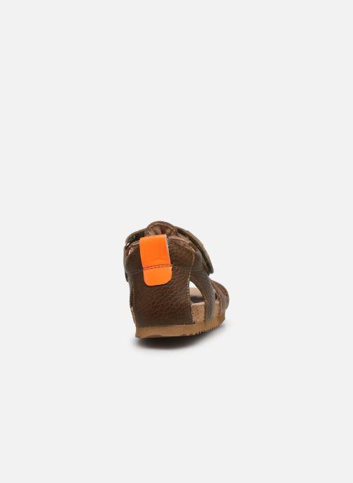 Sandali e scarpe aperte Shoesme Bio Sandal BI21S098 Verde immagine destra