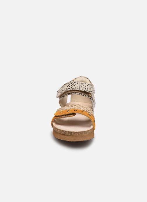 Sandali e scarpe aperte Shoesme Bio Sandal BI21S076 Giallo modello indossato