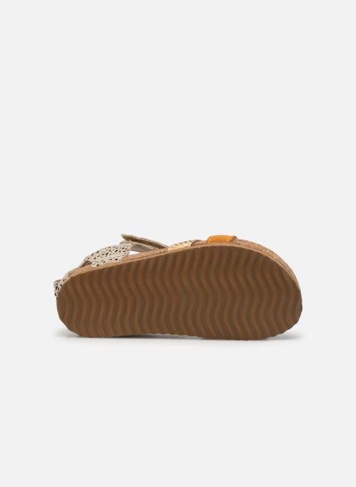 Sandali e scarpe aperte Shoesme Bio Sandal BI21S076 Giallo immagine dall'alto