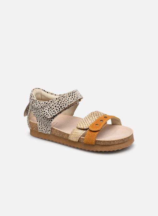 Sandales et nu-pieds Shoesme Bio Sandal BI21S076 Jaune vue détail/paire