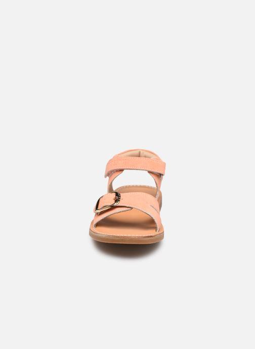 Sandalen Shoesme Classic Sandal CS21S004 orange schuhe getragen