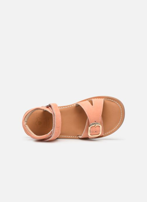 Sandalen Shoesme Classic Sandal CS21S004 orange ansicht von links