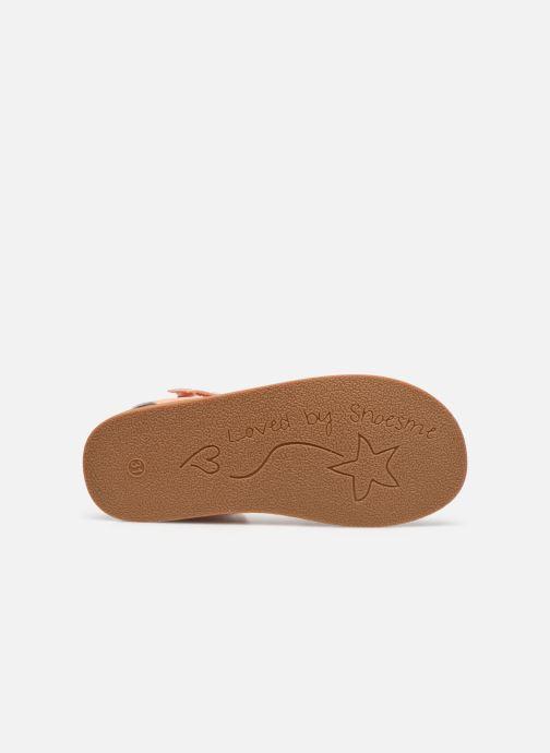 Sandalen Shoesme Classic Sandal CS21S004 orange ansicht von oben