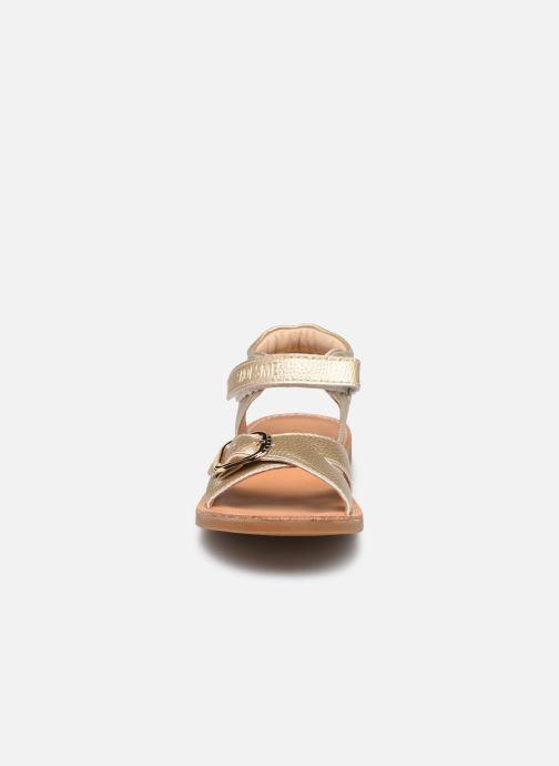 Sandales et nu-pieds Shoesme Classic Sandal CS21S004 Or et bronze vue portées chaussures