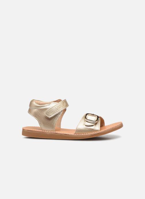 Sandales et nu-pieds Shoesme Classic Sandal CS21S004 Or et bronze vue derrière