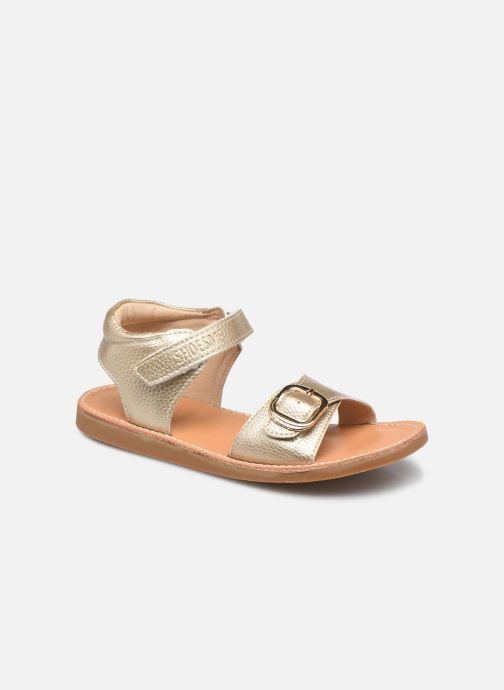 Sandales et nu-pieds Shoesme Classic Sandal CS21S004 Or et bronze vue détail/paire