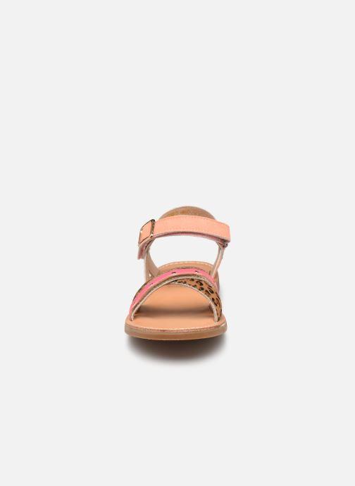 Sandales et nu-pieds Shoesme Classic Sandal CS21S006 Orange vue portées chaussures