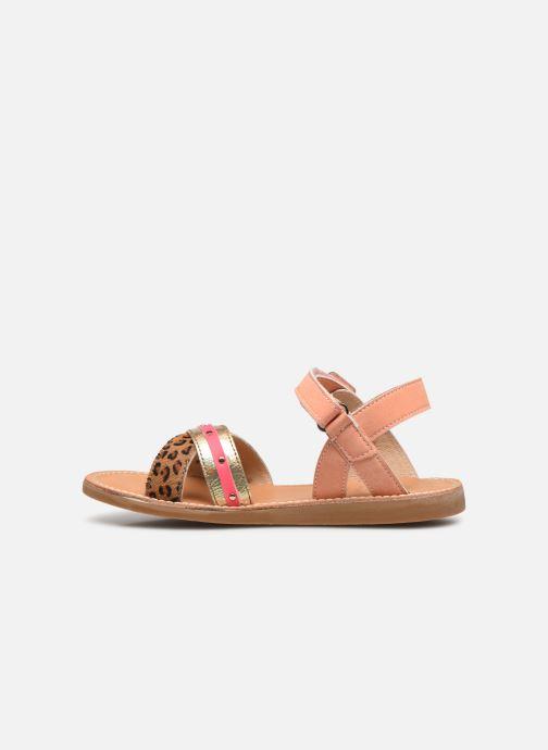 Sandales et nu-pieds Shoesme Classic Sandal CS21S006 Orange vue face