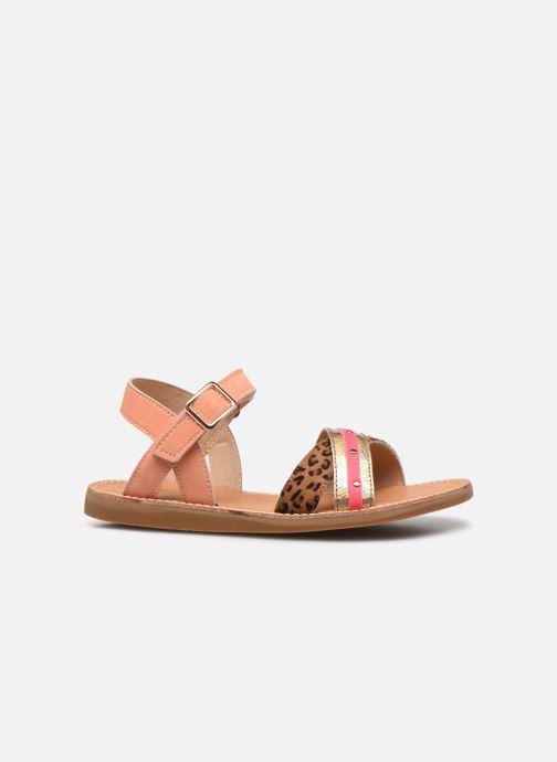 Sandales et nu-pieds Shoesme Classic Sandal CS21S006 Orange vue derrière