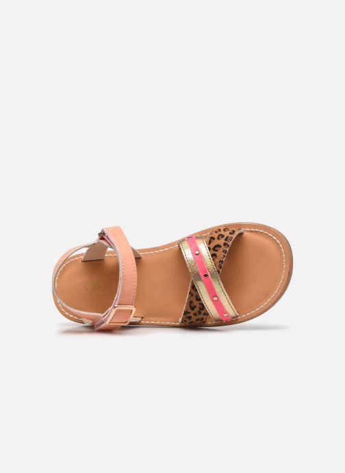 Sandales et nu-pieds Shoesme Classic Sandal CS21S006 Orange vue gauche