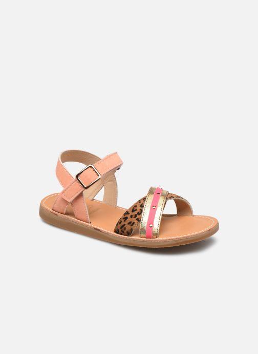 Sandales et nu-pieds Shoesme Classic Sandal CS21S006 Orange vue détail/paire