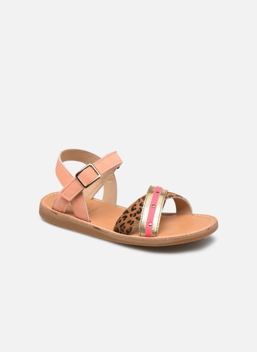 Sandalen Shoesme Classic Sandal CS21S006 Oranje detail