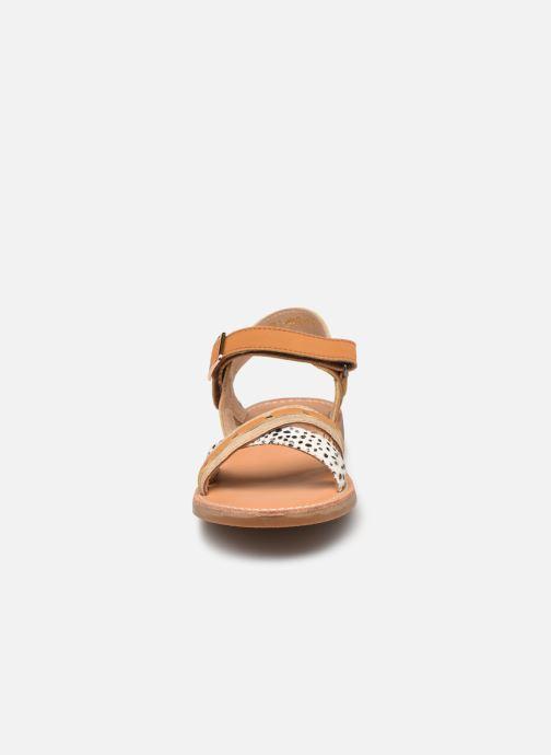 Sandalen Shoesme Classic Sandal CS21S006 braun schuhe getragen