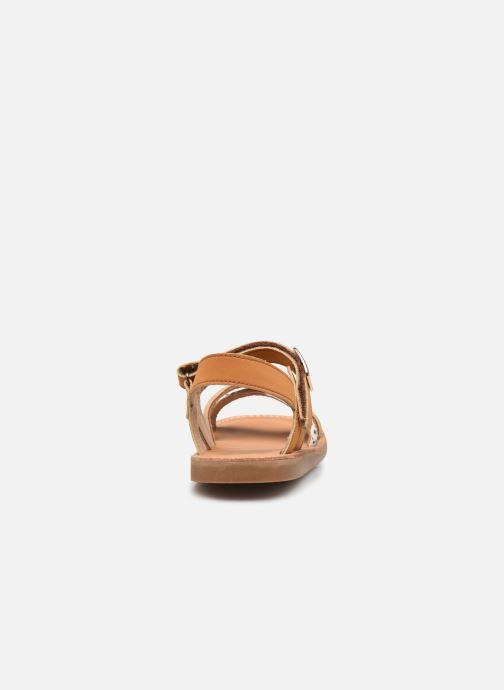 Sandalen Shoesme Classic Sandal CS21S006 braun ansicht von rechts