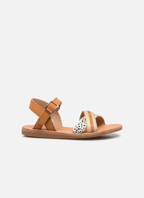 Sandalen Shoesme Classic Sandal CS21S006 braun ansicht von hinten
