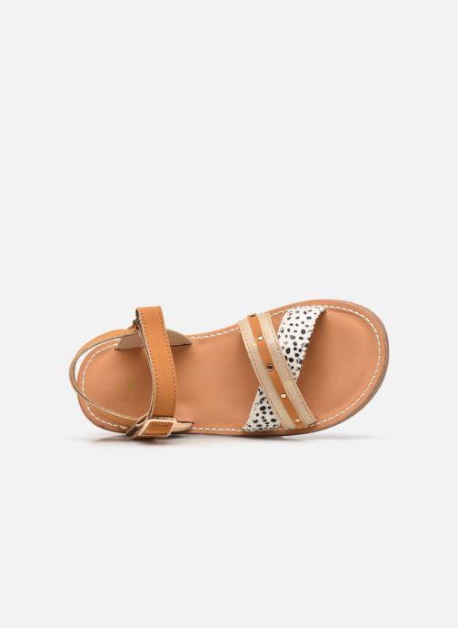 Sandalen Shoesme Classic Sandal CS21S006 braun ansicht von links