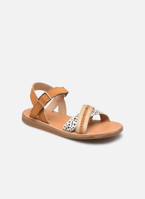 Sandalias Shoesme Classic Sandal CS21S006 Marrón vista de detalle / par