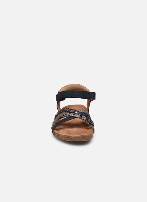 Sandalen Shoesme sandals IC21S005 blau schuhe getragen