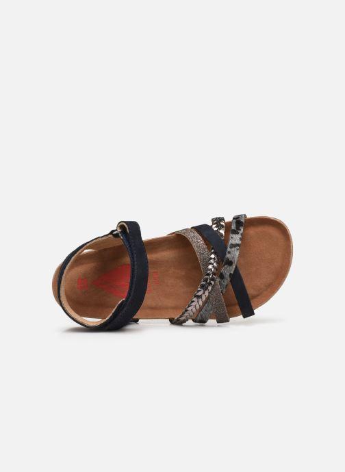 Sandalen Shoesme sandals IC21S005 blau ansicht von links