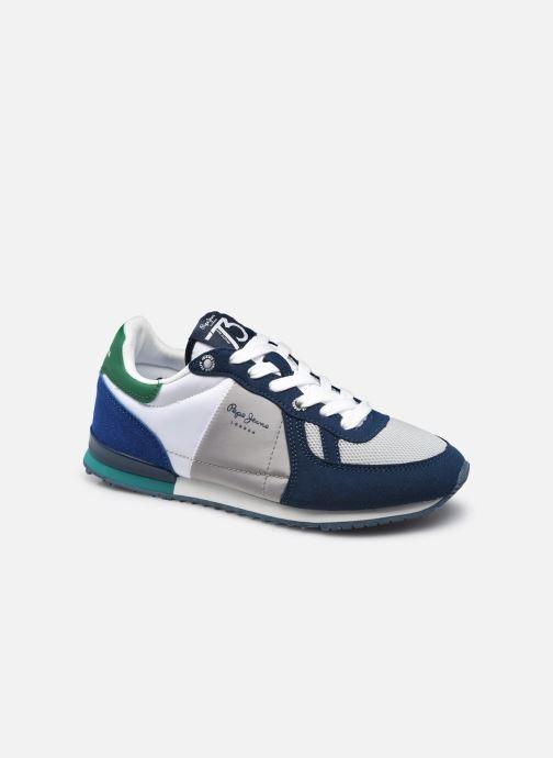 Sneaker Pepe jeans SYDNEY BASIC BOY SS21 blau detaillierte ansicht/modell