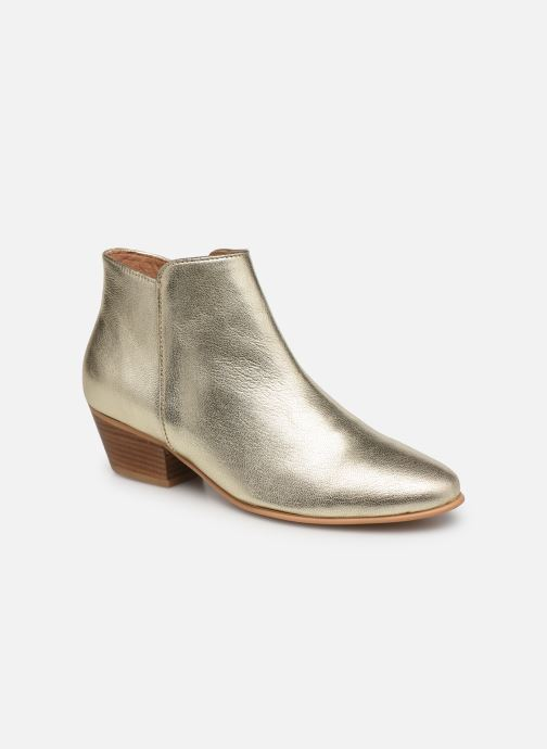 Bottines et boots Georgia Rose Cama Or et bronze vue détail/paire