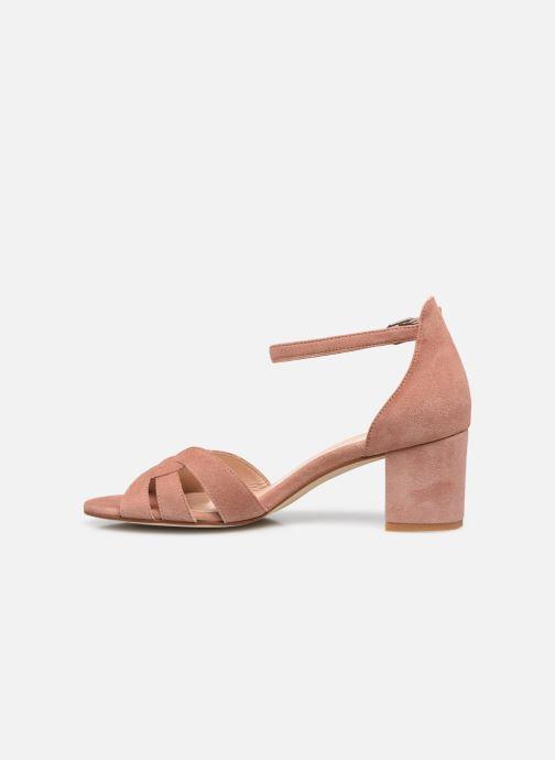 Sandalen Georgia Rose Lucyle rosa ansicht von vorne