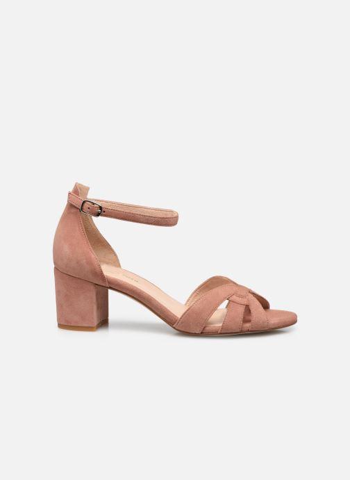 Sandalen Georgia Rose Lucyle rosa ansicht von hinten