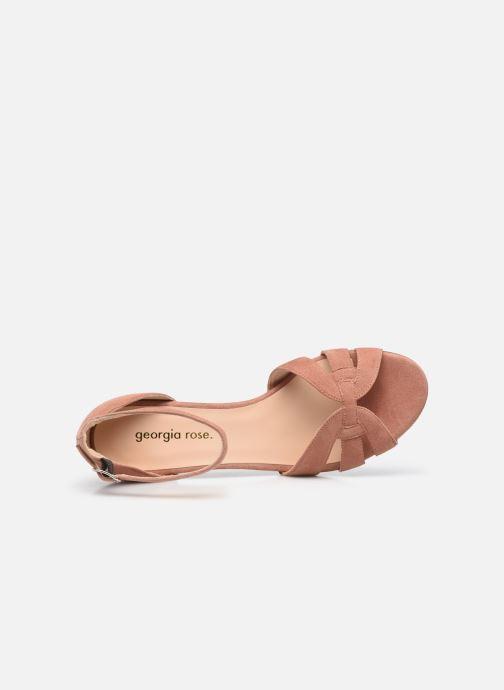 Sandalen Georgia Rose Lucyle rosa ansicht von links