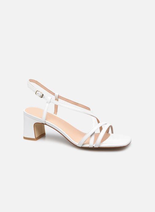 Sandales et nu-pieds Georgia Rose Lyson Blanc vue détail/paire