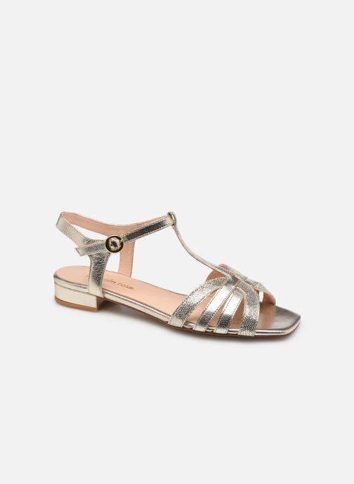 Sandales et nu-pieds Georgia Rose Lénie Or et bronze vue détail/paire
