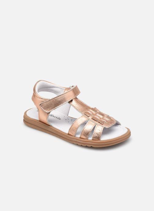 Sandales et nu-pieds Rose et Martin JAMILA LEATHER Rose vue détail/paire