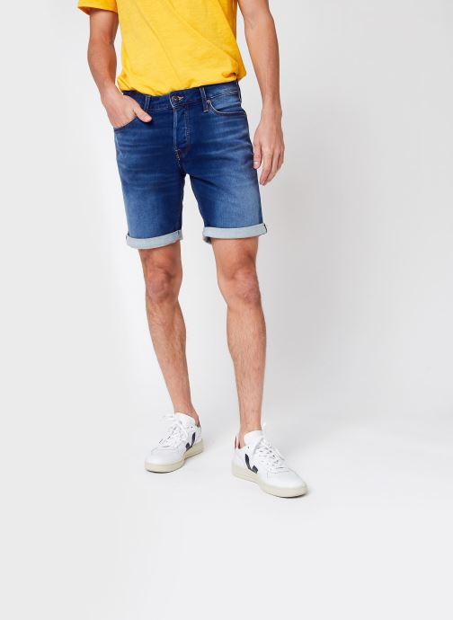 Vêtements Jack & Jones Jjirick Jjicon Shorts Ge 006 Bleu vue détail/paire
